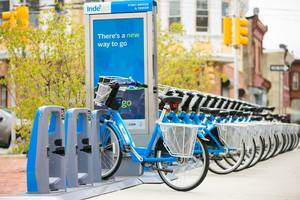 Philly indego bikeshare